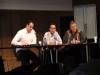 die Diskussionsteilnehmer zum Thema Datenschutz