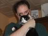 Loenni mit Katze