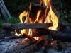 Ein Lagerfeuer