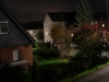Nachbarschaft bei Nacht