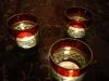 Festliche Teelichter