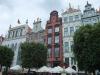 renovierte Fassaden am langen Markt