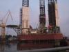Amerikanscihe Ölbohrplattform wird in Danzig renoviert