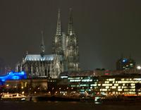 Köln von der Zoobrücke